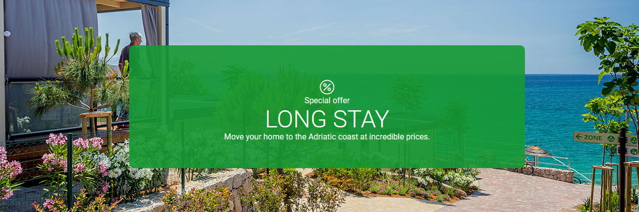 Valamar - long stay - rent mobile homes