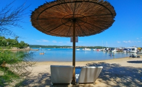 Camping Slamni - excellent small campsite on island Krk