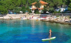 New camping pitches and renovated sanitary facilities in Camping Cikat, Mali Losinj, Croatia