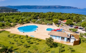 Camping Kovacine (Croatian island Cres) has new swimming pools