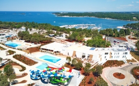 Fotogalery from newly opened Istra Premium Camping Resort in Funtana