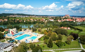 We visited campsite in Terme Ptuj, Slovenia