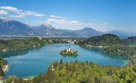 Campsites at Bled and its surrounding