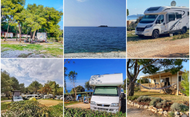 List of opened campsites in Croatia in first half of April