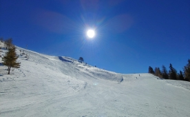 We visited family skiing resort Goldeck in Spittal, Austria