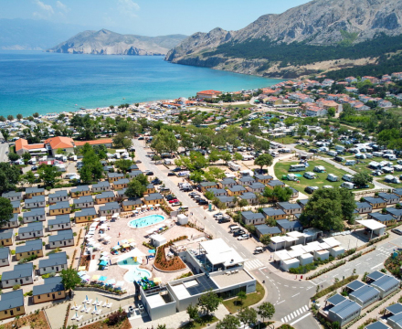 Kamp Baška Beach Resort - otok Krk