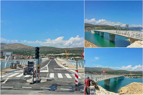New Bridge to connect town Trogir and Island Ciovo