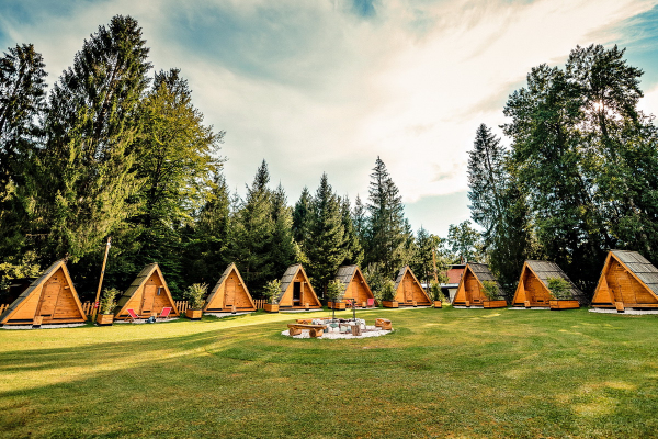 Glamping Forest Edge